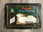 1920s REWERIANA: Pabst Blue Ribbon Beer Prohibition Sign Featuring Pabst Cheese