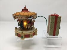 ENESCO MUSICAL CAROUSEL BATTERY OPERATED WORKS 1988