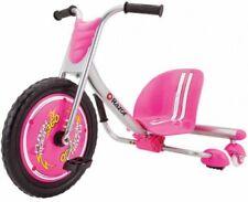 Razor RipRider 360 Drifting Trike Ride Pink Rip Rider Bike Tricycle Big Wheel