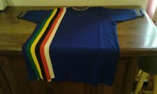 MAGLIA SHIRT VINTAGE CICLISMO CYCLING IRIDATA WOOL LANA SIZE 4 MADE IN ITALY