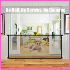Pet Safety Guard Barrier Fence Portable Folding Breathable Gate Separation