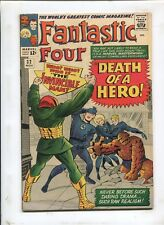 FANTASTIC FOUR #32 (7.0) WHO IS THE INVINCIBLE MAN?!