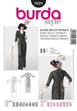 Burda Sewing Pattern Victorian Titanic Edwardian Steampunk Dress Costume 10 - 24