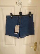 New Look Denim High Regular Size Shorts for Women