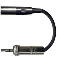SHURE TA4F / TA4M to 3.5mm SCREW LOCK JACK PLUG MICROPHONE TRANSMITTER ADAPTER