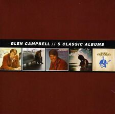 Glen Campbell - 5 Classic Albums [New CD] Boxed Set