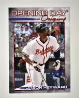 2021 Opening Day Opening Day Origins #ODO-4 Jason Heyward - Atlanta Braves