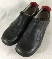 Dunham New Balance WCE417 Black Leather Moc Driving Loafers Men's Size 10 2A