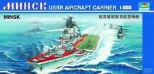 05203 WSN Motor Carrier Battleship Static Model 1/500 USS Nimitz Aircraft