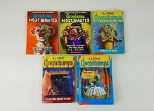 R.L. Stine Goosebumps Paperback Book Lot Of 5 + HC Monster Ed. #1 - 3 In 1 Book