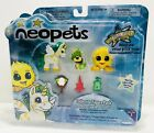 Neopets Island Uni Yellow JubJub And Momba 2-Inch Collector Figure Pack