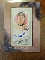 2018 Topps Allen & Ginter Dustin Fowler Mini Framed RC Auto