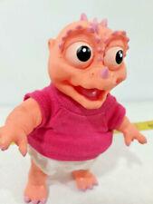 Vtg Street Kids 1991 Dinosaur Babyee Doll  Posable  Baby Dinosaurs Toy Sinclair