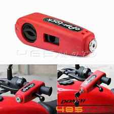 Motorcycle Scooter Grip Lock Brake Lever Security Anti Theft Handlebar For Honda