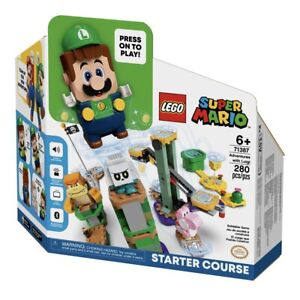 LEGO 71387 Super Mario Adventures with Luigi Starter Course - Pre Order New 2021