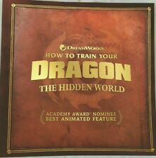 BRAND NEW How To Train Your Dragon The Hidden World Press book FYC DreamWorks