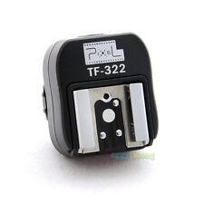 Pixel TF-322 Nikon i-TTL Flash Hot Shoe Converter to PC Sync Socket Adapter