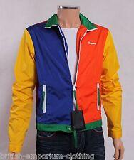 DSQUARED DSQUARED2 Multicolore blocco Giacca Cappotto MADE IN ITALY NUOVO CON ETICHETTA IT50 / UK40