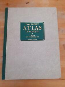 Pierre Gourou - Atlas classique - Hachette (1955)