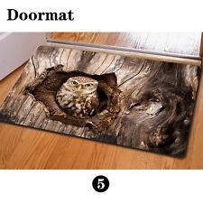Brown Owl Personalized Floor Funny Doormat Carpet Rug Indoor Bedroom Kitchen  Mat