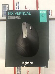 Logitech MX Vertical Advanced Ergonomic Mouse - Optical - 910-005447