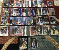 SHAWN KEMP COLLECTION 64 CARDS ALL DIFF W/ INSERTS  PREMIUMS