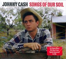 JOHNNY CASH - SONGS OF OUR SOIL - HYMNS BY JOHNNY CASH - 2 ALBUMS ON NEW 2CD