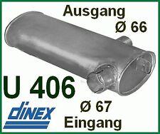 Unimog 406 403  U800 Auspuff  Auspufftopf MERCEDES Schalldämpfer M99 TOP Qualitä