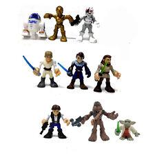 Lot 9x Playskool Star Wars Galactic Heroes Jedi Force Action Figure Toy Ha379