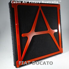 CABIN AIR FILTER fits Fiat Ducato 2002-2018 BREATHE CLEANEST AIR POSSIBLE