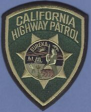 California Highway Patrol CHP Tactical Police Patch-Green