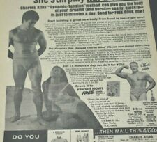 1974 Vintage Print Ad Charles Atlas Would She Play Hard To Get With A Body Like