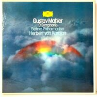 Gustav Mahler 9 Symphonie Herbert von Karajan Box-Set LP Vinyl Record Album