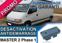 Clé de désactivation d'anti démarrage Renault MASTER 2 PHASE 1