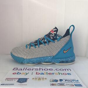 """Nike Lebron 16 """"South Beach"""" Size 7Y"""