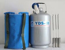 YDS-10-50 azoto liquido CONTENITORE LEGA DI ALLUMINIO SERBATOIO criogenico azoto 10L