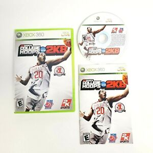College Hoops 2K8 (Microsoft Xbox 360 2007) Complete with Manual CIB