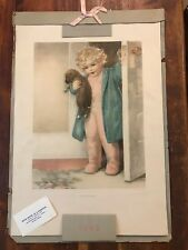 "Bessie Pease Gutmann ""Good Morning"" Original Vintage Print"