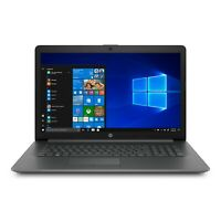 "HP 17"" Laptop AMD A9-9425 Processor, 4 GB RAM, 1 TB Hard Drive, Windows 10 Gray"