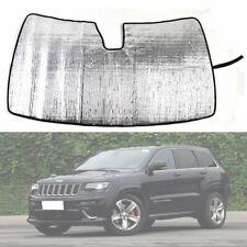 Front Windscreen Sunshade Sun Shade Visor Cover for Jeep Grand Cherokee 11-2019