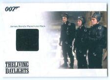 """""""JAMES BOND'S PARACHUTE PACK PROP/RELIC CARD #JBR16"""" JAMES BOND MISSION LOGS"""