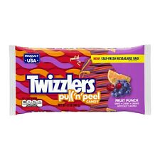 Twizzlers Pull n Peel Candy Fruit Punch Low Fat Snack 12 Ounce