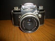Carl Zeiss Jena Silver TESSAR 2.8/50  lens and EXA Jhagee Dresden camera
