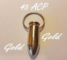 Idea regalo portachiavi proiettile munizione bossolo 45ACP Auto Colt 1911 GColor