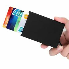 Credit Card Holder Stainless Steel Storage SOLID Business Case Men Women ID Box