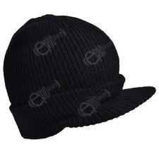 Gorras y sombreros de hombre sin marca color principal negro 100% lana