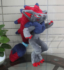 "Pokemon Alola Zoroark Character 13"" Stuffed Animal Nintendo Game Plush Soft Toy"