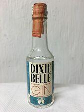 Rarissimo Mignon Miniature Dixie Belle Gin 90 Proof 1/10 Print Timbro USA