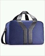YSL Yves Saint Laurent Weekend Bag Navy Blue Duffel Duffle Gym Weekend Overnight