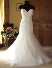Maggie Sottero Sweetheart Corset Wedding Dress Ivory Fit and Flare Mermaid
